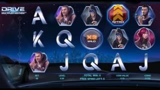 Drive: Multiplier Mayhem Online Slot from NetEnt - Multiplier Wild & Free Spins Feature!