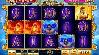 Age of the Gods: Furious 4 from Playtech - Bonus Feature & Free Games