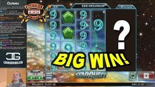 BIG WIN on Star Quest Slot - £4 Bet