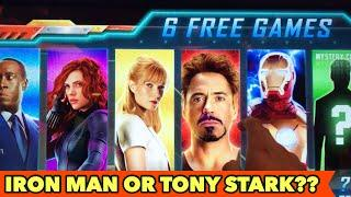 •️NEW IRON MAN SLOT•️ TONY STARK OR IRON?? $3 BET Bonus Games and More other Slots