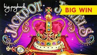 FIRST SPIN BONUS! Jackpot Jewels Slot - HUGE LINE HITS and more! LOVED IT!