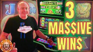 3 HUGE EPIC JACKPOT$! •Big Profit on Fortunes 3 Echo Fortunes •NEVER BEFORE SEEN!