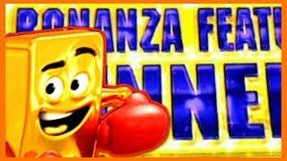 • I GOT THE BONANZA FEATURE • Live Slot Play Las Vegas | Slot Traveler