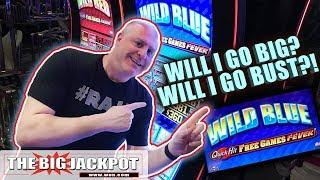 Go BIG or Go BUST! •Wild Blue Quick Hits •| The Big Jackpot