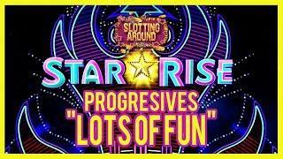 Star Rise Slot Machine Progressive Jackpots Live Play Bonuses so much fun!