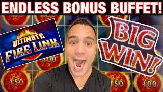 ⋆ Slots ⋆ Ultimate Fire Link goes completely on FIRE!  Up to $20 bets = Great wins!!! ⋆ Slots ⋆