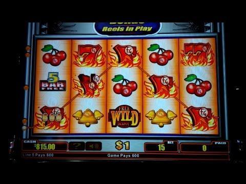 Quick Hit Platinum Slot Machine - $15 Max Bet Bonus - $777 Win!