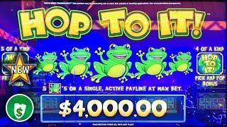•️ New - Hop to It WA VLT slot machine, bonus and Pick'em Theory