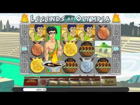 Free Legends of Olympia slot machine by Saucify gameplay ★ SlotsUp