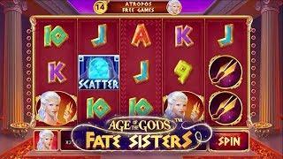 Age of the Gods: Fate Sisters Online Slot from Playtech