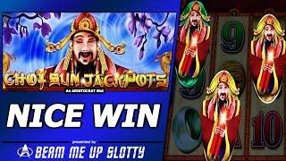 Choy Sun Jackpots Slot - Low Rollin, Nice Free Spins Win