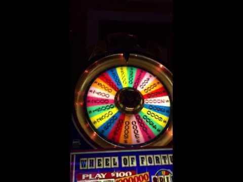 $100 Wheel Of Fortune HANDPAY jackpot high limit slots bonu