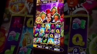 BIG Wonka Vision World of Wonka Free Spins Bonus round slot machine Free spins  pokie