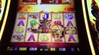 Buffalo Gold Slot Machine Free Spin Bonus #1 New York Casino Las Vegas