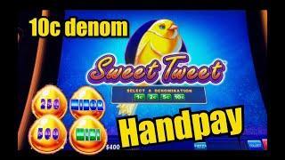 Sweet Tweet - HANDPAY ⋆ Slots ⋆- DROP & LOCK