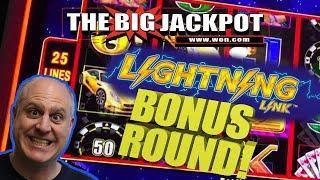 •LIGHTNING LINK HIGH STAKES •BONUS ROUND WIN!!