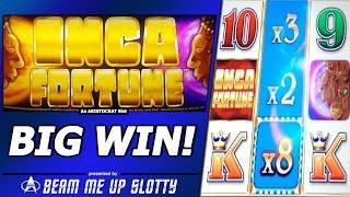 Inca Fortune Slot - Free Spins, Big Win in Aristocrat Jackpot Reel Power game
