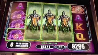 Black Knight 2 Slot Machine ~ FREE SPIN BONUS! ~ STICKY WILD REELS ~ BIG WIN!!! • DJ BIZICK'S SLOT C
