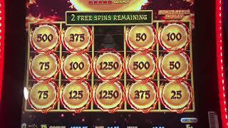 MASSIVE DRAGON LINK High Limit WIN • Sizzling Slot Jackpots CASINO Machine LAS VEGAS Videos