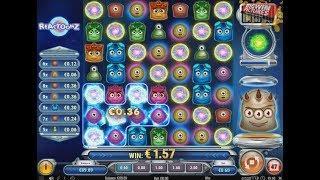 Reactoonz Slot - BIG Base Game Wins! • BigWinVideos