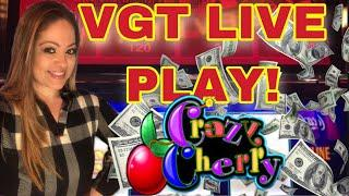 VGT SUNDAY FUN'DAY LIVE PLAY WITH ••CRAZY CHERRY!•• • GREAT RUN! •$6 MAX BET!•