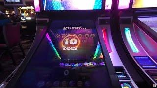**10 Eggs** Willy Wonka Pure Imagination Slot WMS Gaming