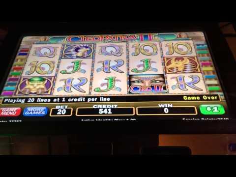 Cleopatra 2 LIVE PLAY high limit slots bonus