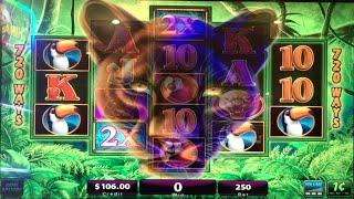 Prowling Panther •LIVE PLAY / MAX BET• Slot Machine at Flamingo, Las Vegas