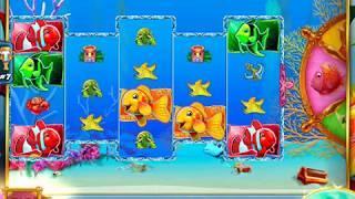 GOLD FISH 3 Video Slot Casino Game with a PURPLE FISH BONUS