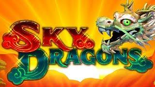 Sky Dragons Slot - NICE SESSION, ALL FEATURES!