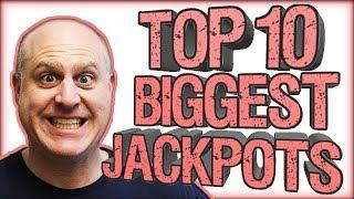 •TOP 10 BIGGEST JACKPOT$! •March 2019 Compilation! •| The Big Jackpot