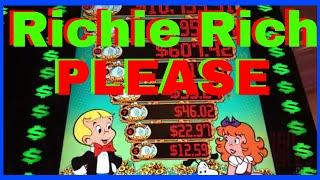 • RICHie RICH Please!!! •  • Richie Rich + Open the Vault+MORE! • Slot Machine Pokies w Brian C