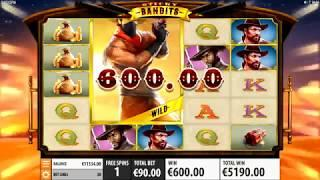 Sticky Bandits Slot - BIG WIN & Game Play - by Quickspin