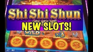 NEW SLOTS! Big Wins on Lock it Link Shi Shi Shun and Coin o Mania