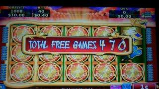 Flying Fortune Slot Machine Bonus w/ Replicating 1st Reel - 535 FREE SPINS - SUPER BIG WIN
