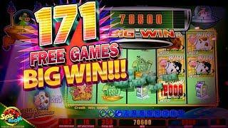 BIG MAX BET BONUS!!! on Invaders Return From Planet Moolah 1c Wms Slot in San Manuel Casino