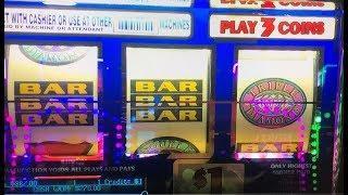 BIG WIN Live on Free Play•$270 FP Part 2/3• Triple Double Diamond Dollar Slot machine,  Akafujislot