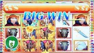 Wild Stampede 95% payback slot machine, 3rd time's the charm