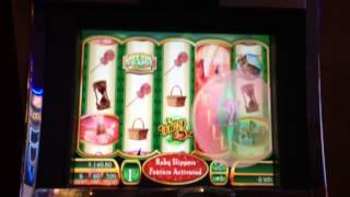 Wizard of Oz Slot Machine Bonus - Glinda Bubble