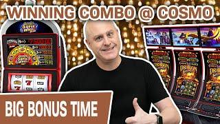 ⋆ Slots ⋆ $48 SPINS! HIGH-LIMIT Dragon Spin + Quick Hit ⋆ Slots ⋆ A WINNING Combo @ Cosmo