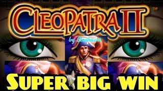 CLEOPATRA II slot machine vs NAPOLEON & JOSEPHINE slot Bonus WINS **SUPER BIG WIN**