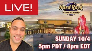 ⋆ Slots ⋆ $1000 LIVE SLOT PLAY @ Hard Rock Sacramento! ⋆ Slots ⋆ 5pm Pacific / 8pm Eastern SUNDAY!