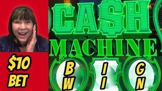 IT FINALLY HAPPENED! BIG WIN! CASH MACHINE ON $10 BET