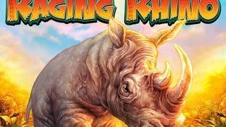 WMS Raging Rhino   ULTRA MEGA BIG WIN £1,60 bet   Over 1000x during Freegames