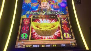 SPRING FESTIVAL Dragon Link HIGH LIMIT 10c Dimes BONUS Sizzling Slot Jackpots