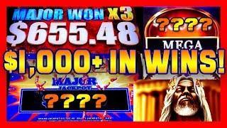 $1,000+ in wins HUGE SLOT BONUS WINS  & HANDPAYS!! • KRONOS WALKING DEAD w/ DRAGONS • TAG3