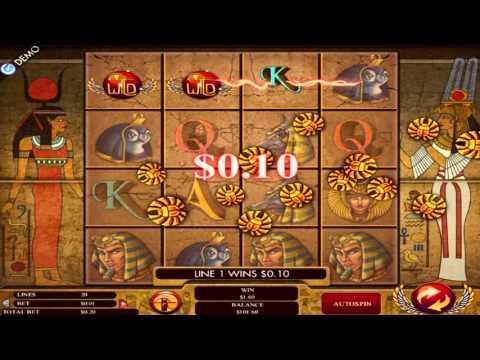 Free Gods of Giza slot machine by Genesis Gaming gameplay ★ SlotsUp