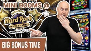 ⋆ Slots ⋆ SUPER LOCK SLOTS in Hollywood, Florida ⋆ Slots ⋆ Mini Booms ALL DAY at Hard Rock
