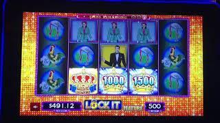 Lotteria Lock It Link 4 Big Bonus Wins at Kickapoo Lucky Eagle Casino