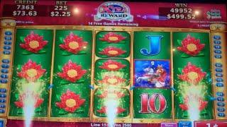 Majestic Warriors Slot Machine Bonus - MAX BET - 16 Free Spins - HUGE WIN (#2)